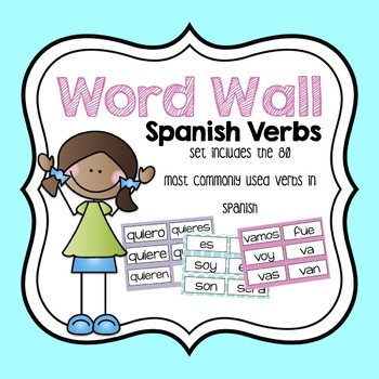 High Frequency Spanish Verb Word Wall