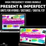 High Frequency Verbs - Distance Learning Spanish Bundle -