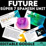 High Frequency Verbs Unit (Future Tense) - Spanish