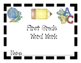 High Frequency Vocabulary Word Workbook
