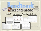 High Frequency Word Activities For Benchmark Advance Second Grade