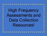 High Frequency Word Assessments and Excel Data Collection