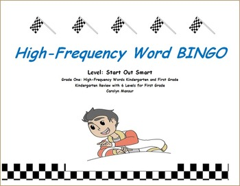 High Frequency Word BINGO - Grade 1:Levels 1-6