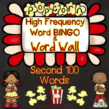 High Frequency Word BINGO - Second 100 Words