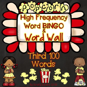 High Frequency Word BINGO - Third 100 Words
