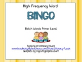 High Frequency Word Bingo Level P