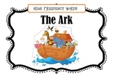 High Frequency Word Book-The Ark