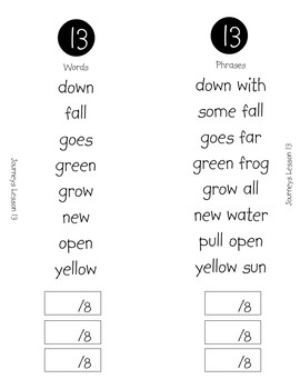 High-Frequency Word Booklet for 1st Grade Journeys Unit 3