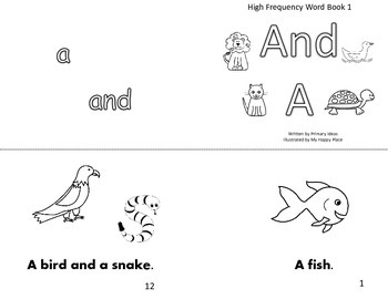 High-Frequency Word Books
