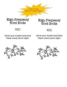 High Frequency Word Bundle