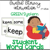 LLI GREEN System, 2nd ed. - 402 Student Word Cards + Word