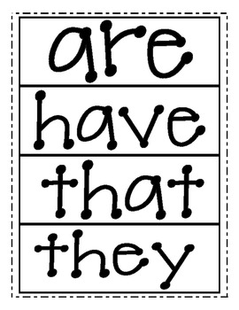 High Frequency Word Cards - Reading Street First Grade (2013 Edition)