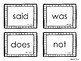 High-Frequency Word Cards for Reading Wonders 1st grade