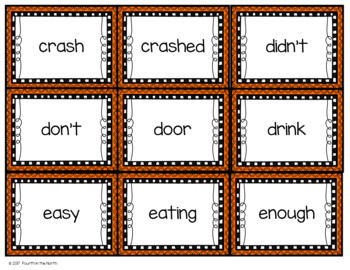 High Frequency Word Cards and Data Tracking Forms- Second Grade