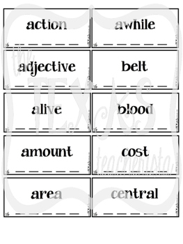 High Frequency Word / Sight Word Daily Practice Pack {SET 16-20 BUNDLE}