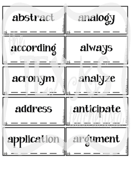 High Frequency Word / Sight Word Daily Practice Pack {SET 26-30 BUNDLE}