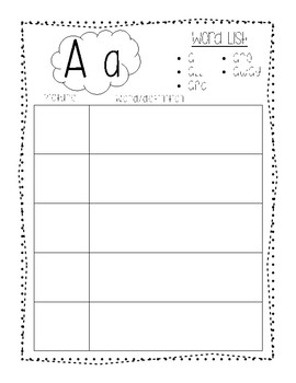 High Frequency Word Dictionary