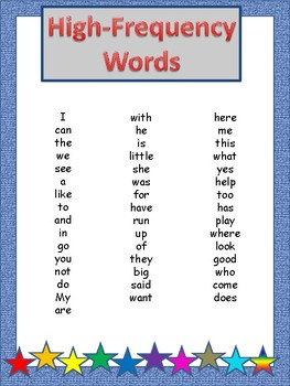 High-Frequency Word Finds