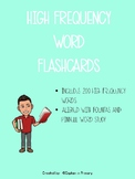 High Frequency Word Flash Cards (set of 200)