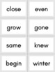 High Frequency Word Flashcards - 200 Words
