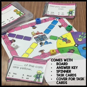 High Frequency Word Game (Unit 2)