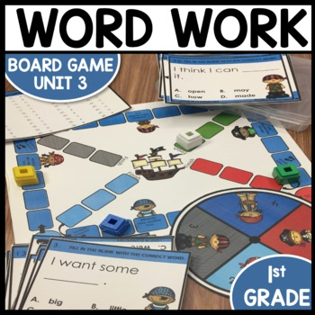 Word Work Task Cards | Games | Center Activities | (Unit 3)