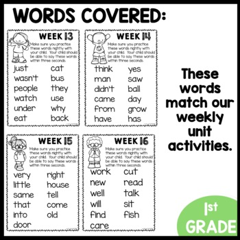 High Frequency Word Game (Unit 4)