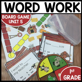 High Frequency Word Game (Unit 5)