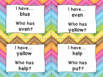 High Frequency Word I Have You Have Wonders Reading Unit 1 Grade 2