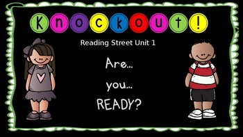 High Frequency Word Knockout 1st Grade Reading Street Unit 1- EDITABLE
