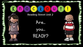High Frequency Word Knockout - 1st Grade Reading Street Unit 2 - EDITABLE