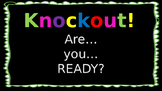 High Frequency Word Knockout - EDITABLE
