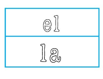 High Frequency Word Mats to work with play dough (Spanish)