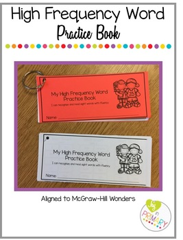 High Frequency Word Practice Book