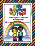 High Frequency Word Practice Rainbow Write