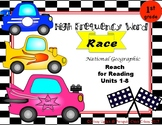 High Frequency Word Practice Word Race- Reach for Reading First Grade Units 1-8