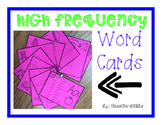 High Frequency Word Rings
