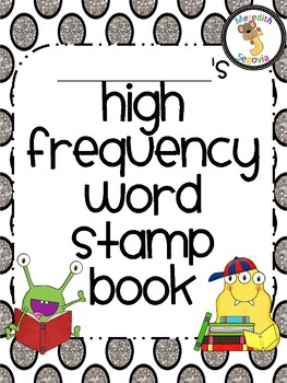 High Frequency Word Stamp Book