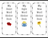 High Frequency Word Sticker Book for First Grade