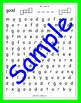 High Frequency Word Visual Scanning - Sight Word Search Booklet