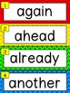 High Frequency Sight Word Wall For Reading and Writing