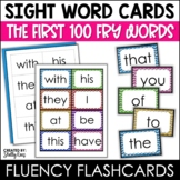 Fry Sight Words Flash Cards - The First 100