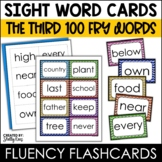 Fry Sight Words Flash Cards - The Third 100