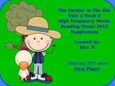 High Frequency Words- The Farmer in the Hat Reading Street