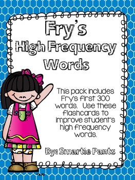 High Frequency Words/ Sight Word Flash Cards