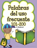 High Frequency Words 101-200 in Spanish