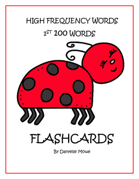 High Frequency Words - 1st 100