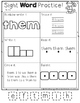 High Frequency Words {1st Grade, Pack 1 of 4}