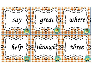 Spanish & English High Frequency Words - Second Grade (Set B)