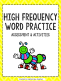 High Frequency Words Assessment and Activities: Upper Elementary